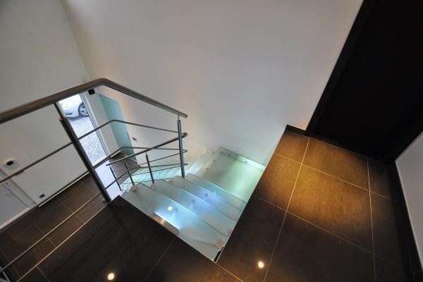 Escaliers Inox Plexi Verre
